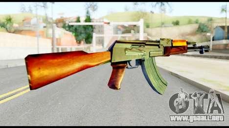 AK47 from Metal Gear Solid para GTA San Andreas