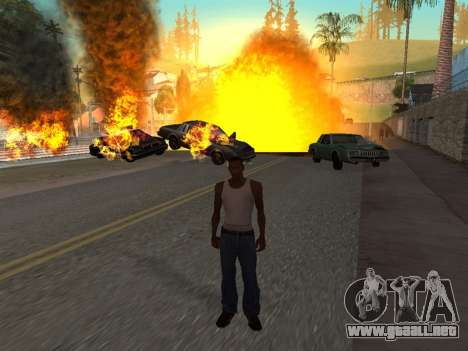 Realistic Effect 3.0 Final Version para GTA San Andreas quinta pantalla