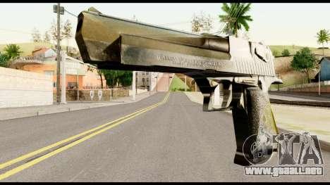 Desert Eagle from Metal Gear Solid para GTA San Andreas