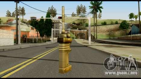 TNT Detonator from Metal Gear Solid para GTA San Andreas segunda pantalla
