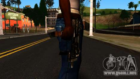Machine from Shadow Warrior para GTA San Andreas tercera pantalla