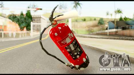 Fire Extinguisher with Blood para GTA San Andreas segunda pantalla