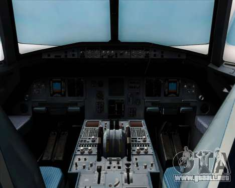 Airbus A320-200 Air Asia Japan para vista lateral GTA San Andreas