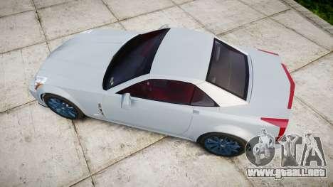 Cadillac XLR-V 2009 para GTA 4 visión correcta