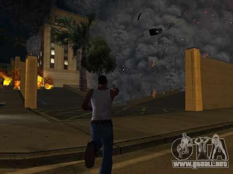Realistic Effect 3.0 Final Version para GTA San Andreas sucesivamente de pantalla