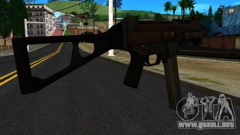 UMP45 from Battlefield 4 v2 para GTA San Andreas segunda pantalla