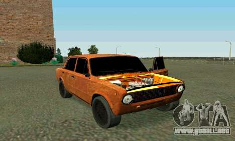 VAZ 2101 Ratlook v2 para la vista superior GTA San Andreas