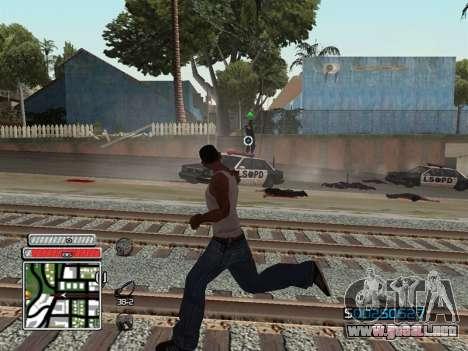 C-HUD Unique v4.1 para GTA San Andreas sexta pantalla