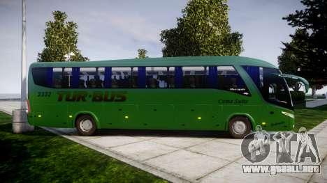 Marcopolo Paradiso G7 1200 para GTA 4 left