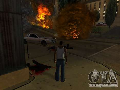 Realistic Effect 3.0 Final Version para GTA San Andreas tercera pantalla