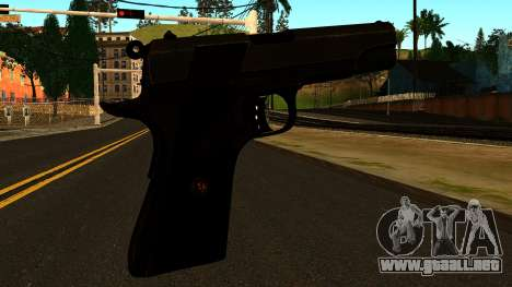 Colt 1911 from Battlefield 3 para GTA San Andreas segunda pantalla