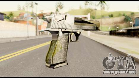 Desert Eagle from Metal Gear Solid para GTA San Andreas segunda pantalla