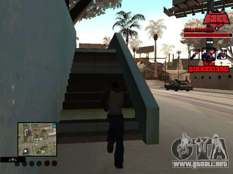 C-HUD Raisers para GTA San Andreas segunda pantalla