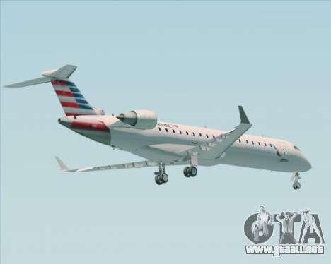 Bombardier CRJ700 American Eagle Airlines para GTA San Andreas vista hacia atrás