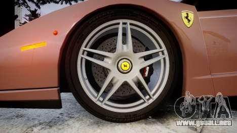 Ferrari Enzo 2002 [EPM] para GTA 4 vista hacia atrás