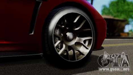 GTA 5 Dewbauchee Massacro Racecar (IVF) para la visión correcta GTA San Andreas