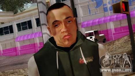 GTA 4 Skin 74 para GTA San Andreas tercera pantalla