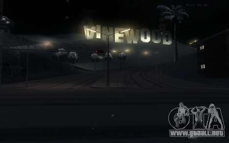 Snow Mod para GTA San Andreas tercera pantalla