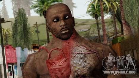 Resident Evil Skin 10 para GTA San Andreas tercera pantalla