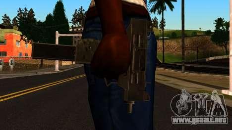 Micro SMG from GTA 4 para GTA San Andreas tercera pantalla