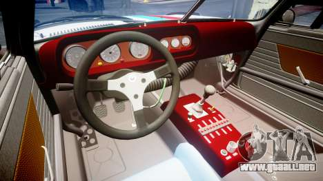 BMW 3.0 CSL Group4 [93] para GTA 4 vista interior