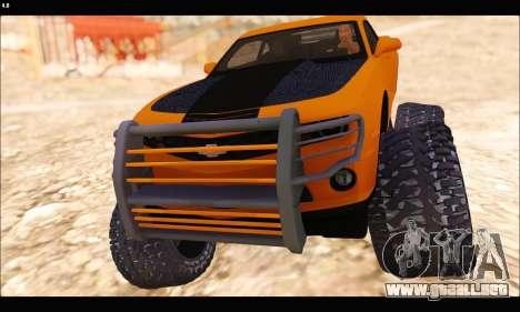 Chevrolet Camaro SUV Concept para GTA San Andreas left