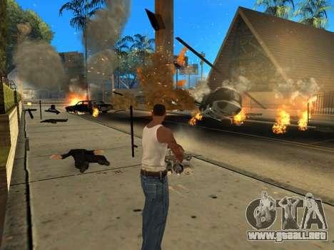 Overdose 1.6 New para GTA San Andreas segunda pantalla