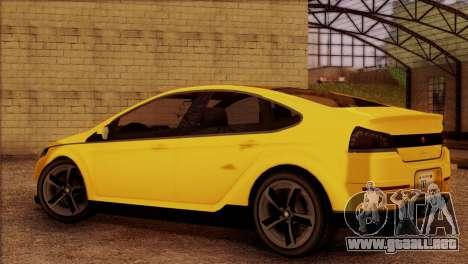 Cheval Surge 1.1 (IVF) para GTA San Andreas left