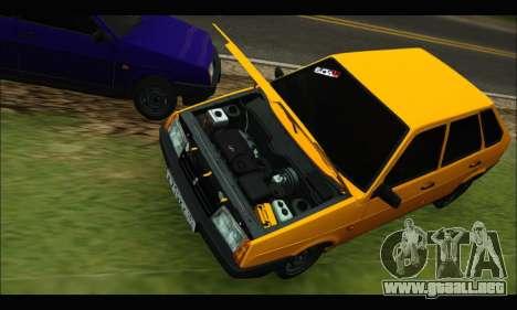 VAZ 2109 BPAN para GTA San Andreas left