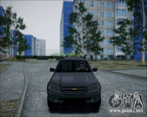 Chevrolet Niva para GTA San Andreas left