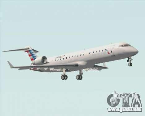 Bombardier CRJ700 American Eagle Airlines para vista inferior GTA San Andreas