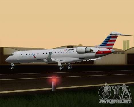 Bombardier CRJ700 American Eagle Airlines para GTA San Andreas interior