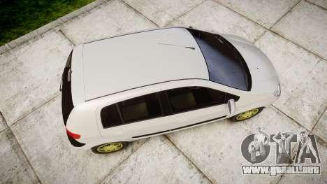 Hyundai Getz 2006 para GTA 4 visión correcta