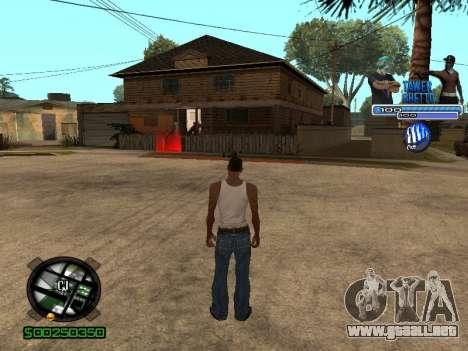 С-Hud Tawer-Gueto v1.6 el Clásico para GTA San Andreas sucesivamente de pantalla