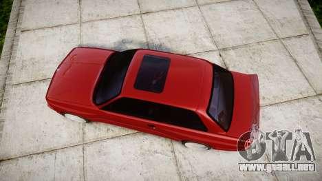 BMW E30 M3 para GTA 4 visión correcta