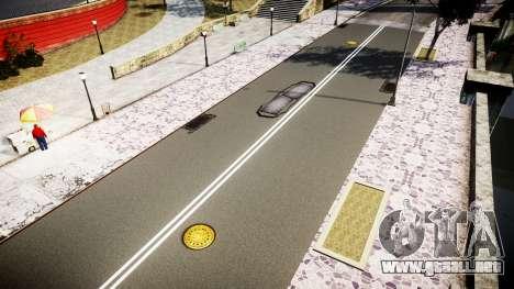La textura de carreteras de alta definición de 2 para GTA 4 quinta pantalla