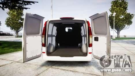Mercedes-Benz Vito GIGN [ELS] para GTA 4 vista hacia atrás