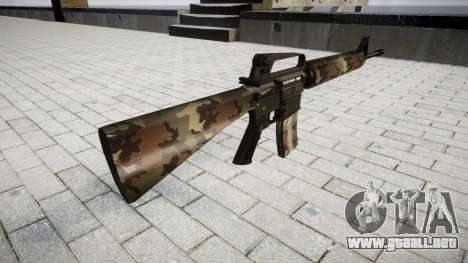 El rifle M16A2 erdl para GTA 4 segundos de pantalla