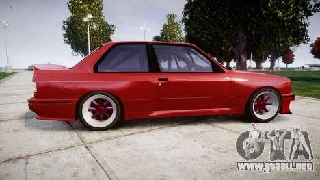 BMW E30 M3 para GTA 4 left