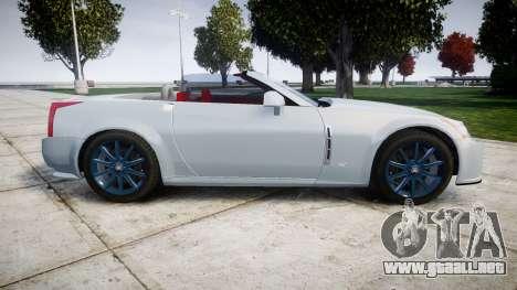 Cadillac XLR-V 2009 para GTA 4 left