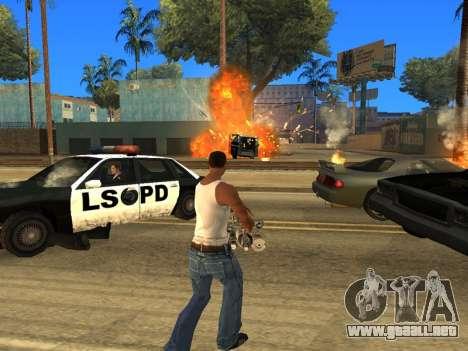 Overdose 1.6 New para GTA San Andreas sucesivamente de pantalla