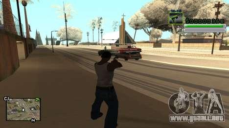 C-HUD v5.0 para GTA San Andreas tercera pantalla