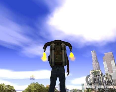 Realista cielo (Cielo Mod) para GTA San Andreas segunda pantalla