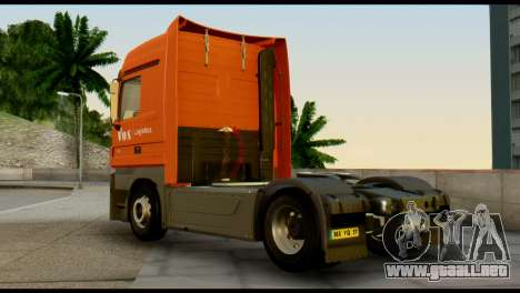 Mercedes-Benz Actros PJ1 para GTA San Andreas left