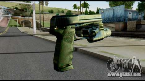 USP from Metal Gear Solid para GTA San Andreas segunda pantalla