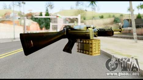 M63 from Metal Gear Solid para GTA San Andreas segunda pantalla