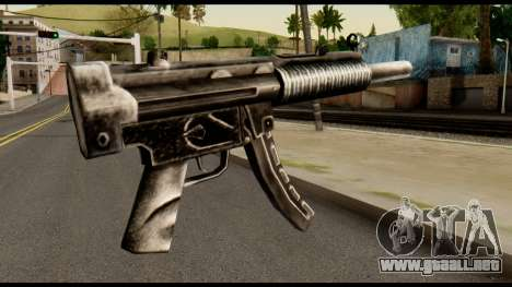 MP5 SD from Max Payne para GTA San Andreas segunda pantalla