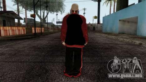 GTA 4 Skin 32 para GTA San Andreas segunda pantalla
