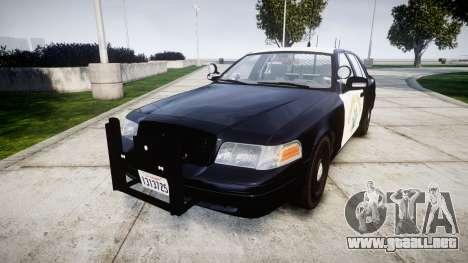 Ford Crown Victoria Highway Patrol [ELS] Slickto para GTA 4