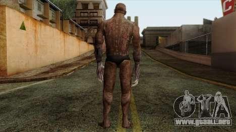 Resident Evil Skin 10 para GTA San Andreas segunda pantalla